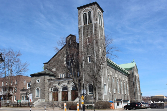 L'église Saint-Zéphirin... (Photo: Audrey Tremblay, Le Nouvelliste)