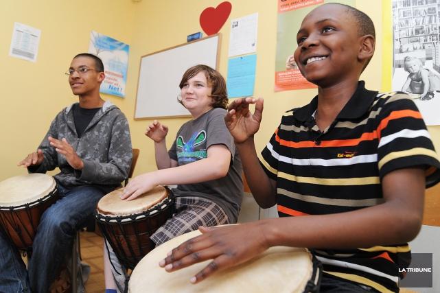 Jeunes musiciens du monde - Sherbrooke est à... (Archives La Tribune, Jessica Garneau)