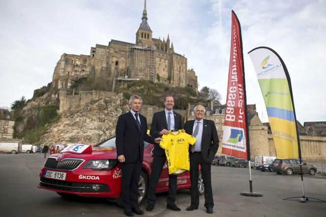 Laurent Beauvais, président de la région de la... (Photo Lionel Bonaventure, AFP)