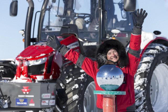 La Néerlandaise Manon Ossevoort a parcouru 2500 km... (Photo Simon Foster, AFP)