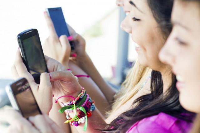 Le premier usage que les jeunes font du... (Photo Thinkstock)