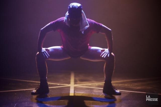 Dans son spectacle Winnin', Dany Desjardins fait ressortir... (Photo: André Pichette, La Presse)