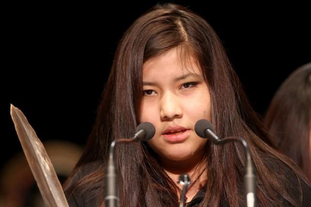 Rinelle Harper, âgée de 16 ans, a été... (Photo Trevor Hagan, La Presse Canadienne)