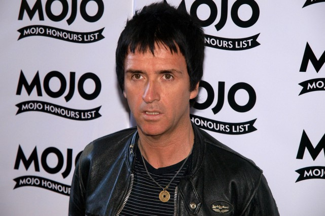 Johnny Marr... (Photo: archives AFP)