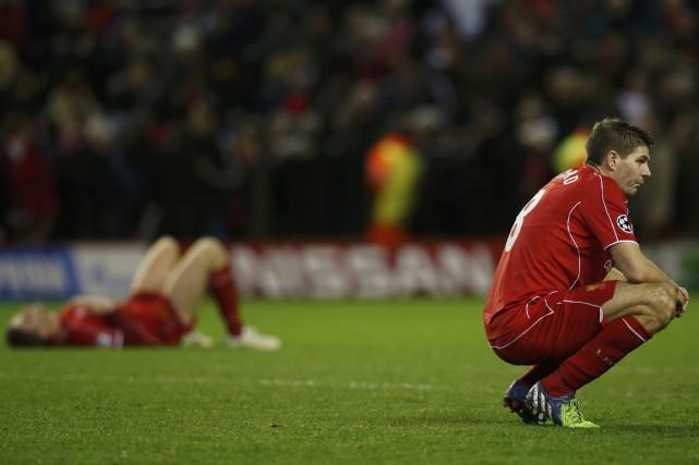 La chute de Liverpool en Ligue des Champions a été confirmée, mardi, alors que... (Photo Reuters)