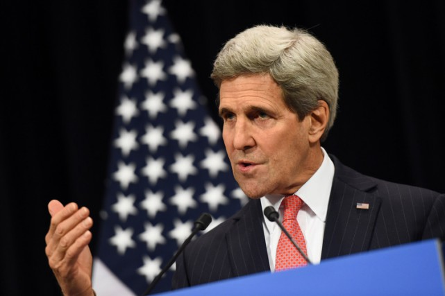John Kerry... (Photo: AFP)
