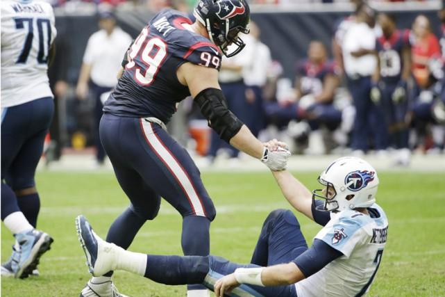 La NFL a créé un prix pour le plus bel esprit sportif dont le gagnant sera... (Archives Reuters)