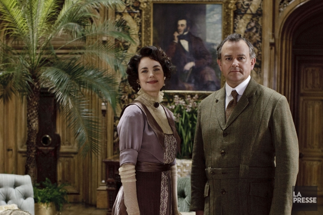 Downton Abbey... (PHOTO ARCHIVES LA PRESSE)