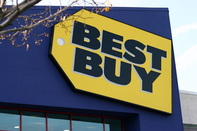 Le géant du commerce au détail Best Buy mettra un terme à son lien d'affaires... ((Archives))