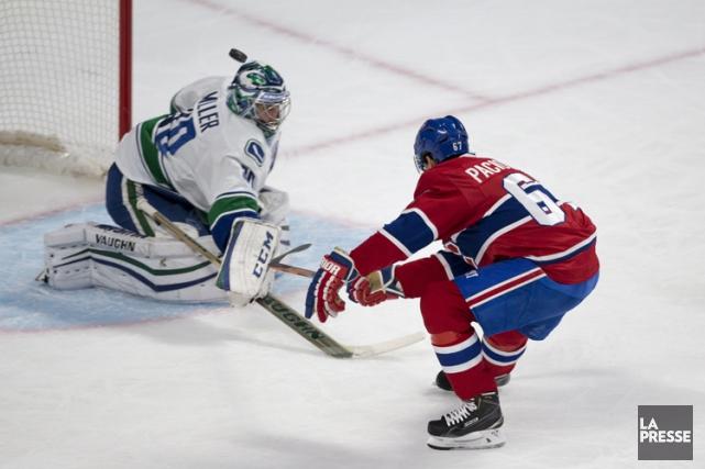 Relisez le clavardage du match entre le Canadien et les Canucks de Vancouver... (Photo: André Pichette, La Presse)