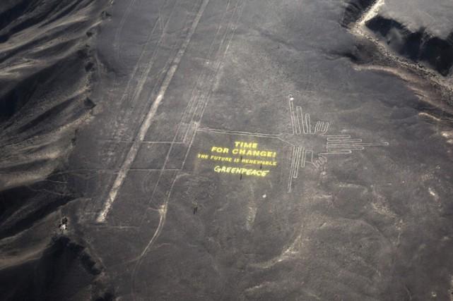 Le ministère de la culture du Pérou s'est dit indigné d'une action entreprise... (Photo: AP)