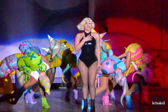 Lady Gaga a attiré le plus de festivaliers... (Photothèque Le Soleil, Yan Doublet)