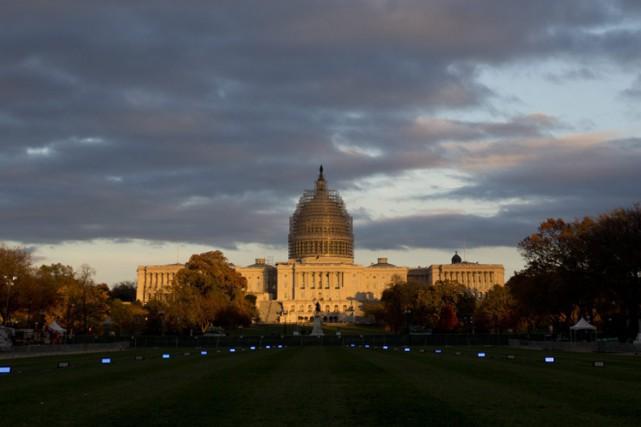 À deux jours de la date-butoir, les négociateurs démocrates et républicains du... (Photo: AP)