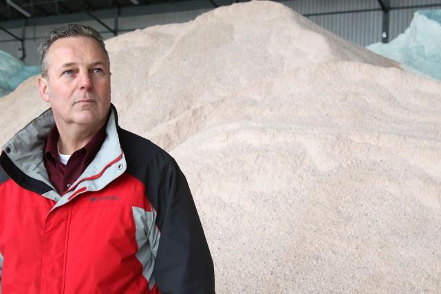 Luc Gagné, gestionnaire de l'entretien des routes à... (Patrick Woodbury, LeDroit)
