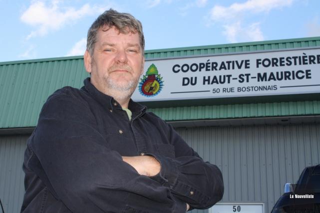 Claude Dupuis, directeur général de la Coopérative forestière... (Photo: archives Le Nouvelliste)