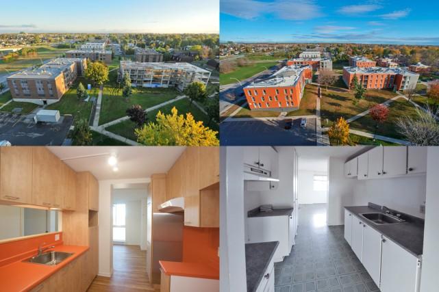 Les 190 logements des Habitations Séguin, un complexe... (PHOTOS FOURNIES PAR L'OMHM)