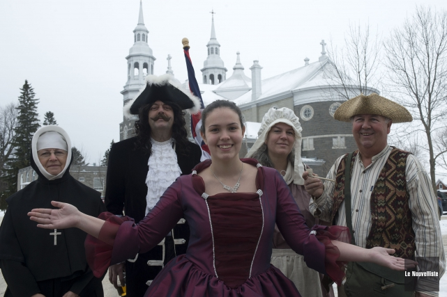 Le comité organisateur des fêtes du 350eanniversaire de Louiseville souhaite... (Photo: Stéphane Lessard Le Nouvelliste)