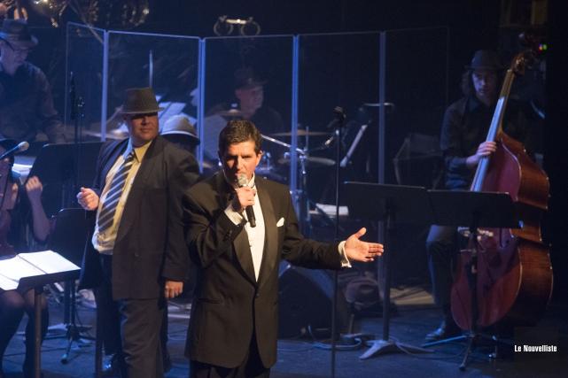 Après son spécial Frank Sinatra, le Grand orchestre... (Photo: Stéphane Lessard Le Nouvelliste)