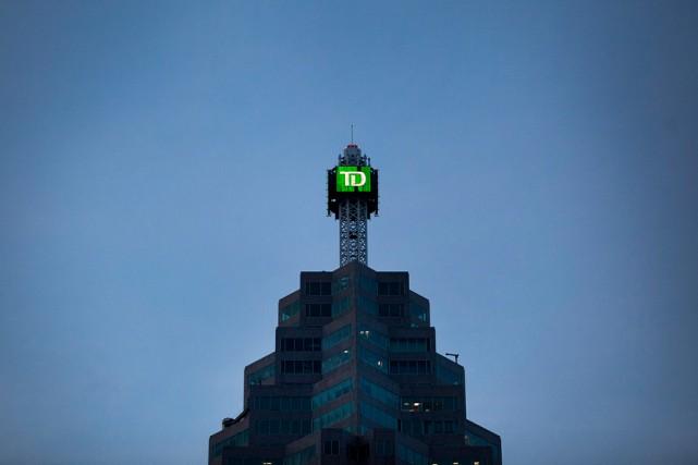 La Banque TD se retrouve cette année encore... (PHOTO PAWEL DWULIT, ARCHIVES BLOOMBERG)