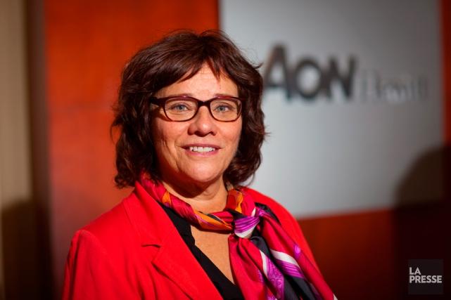 Andrée Mercier est associée principale chez Aon Hewitt.... (PHOTO ANDRÉ PICHETTE, ARCHIVES LA PRESSE)