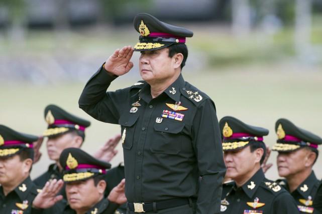 La junte militaire - menée par le général... (PHOTO SAKCHAI LALIT, ARCHIVES AP)