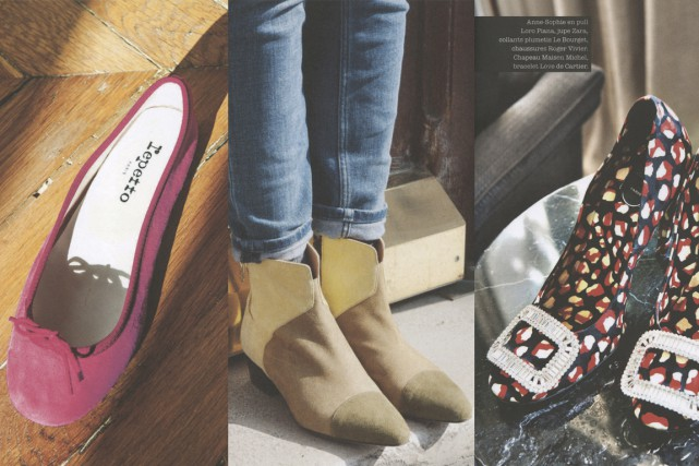 Les mocassins, bottines, stilettos, sandales, ballerines, baskets ou... (Images tirées du livre)