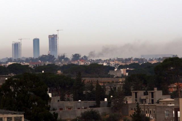 La Libye est plongée dans le chaos et... (PHOTO MAHMUD TURKIA, AFP)