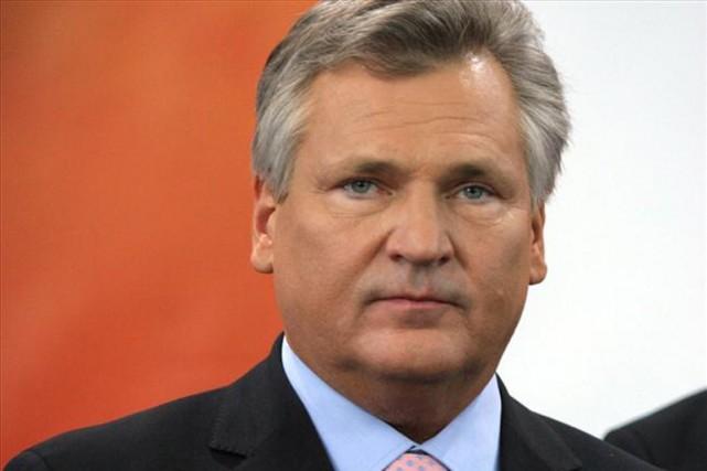 Aleksander Kwasniewski, président de la Pologne entre 1995... (PHOTO WIKIPÉDIA)