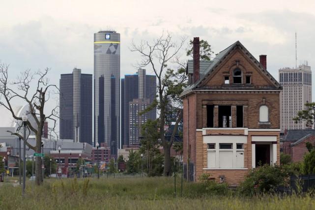 Le 18 juillet 2013, Detroit était devenue la... (Photo Archives Bloomberg)