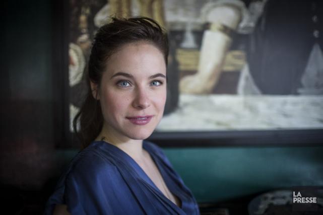 Caroline Dhavernas aime les produits écologiques et est... (PHOTO OLIVIER PONTBRIAND, ARCHIVES LA PRESSE)