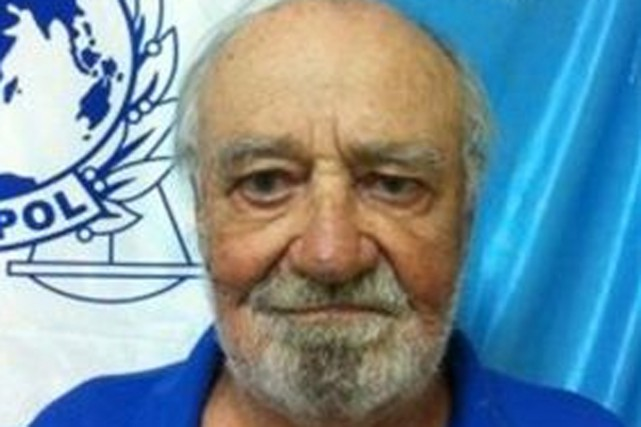 Joseph Charles Philippe Côté... (Photo Policia Nacional/Interpol)