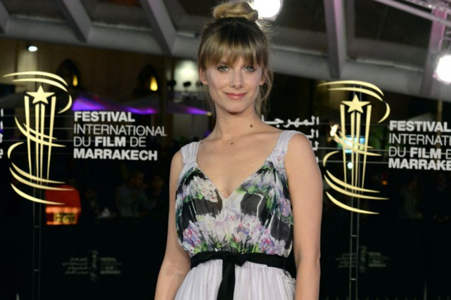 Mélanie Laurent au festival du film de Marrakech.... (Photo: AFP)