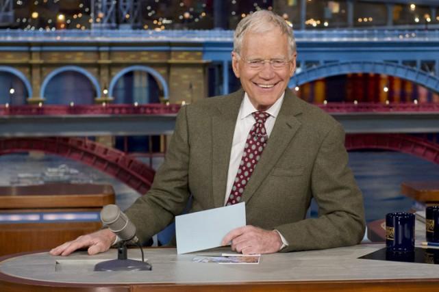 L'animateur David Letterman s'est moqué du gouverneur de... (Photo: archives AP)