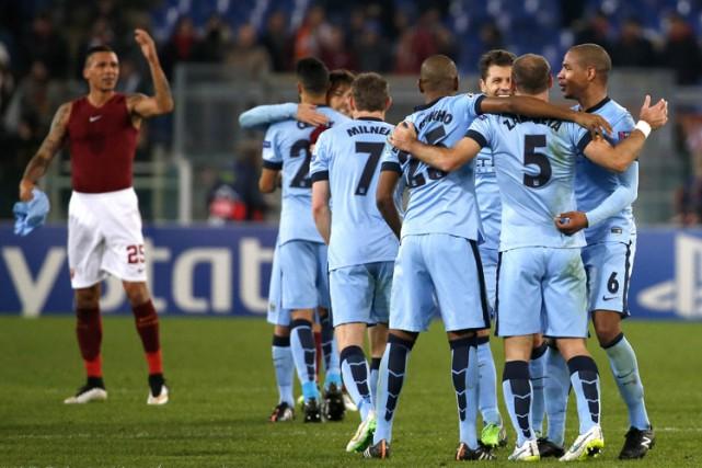 Manchester City et le Schalke 04 ont mis la main sur les dernières places... (Photo: Reuters)
