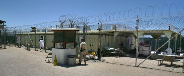 La prison américaine de Guantanamo, à Cuba.... (Photo Brennan Linsley, archives Associated Press)