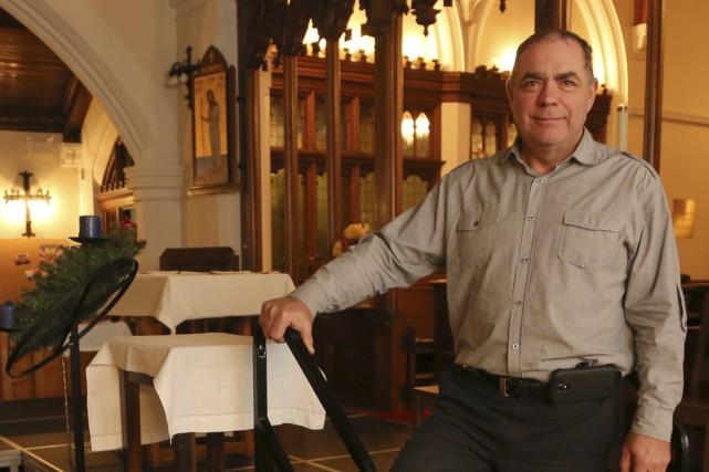 Le responsable de la Fabrique de l'église épiscopale... (photo Alain Dion)
