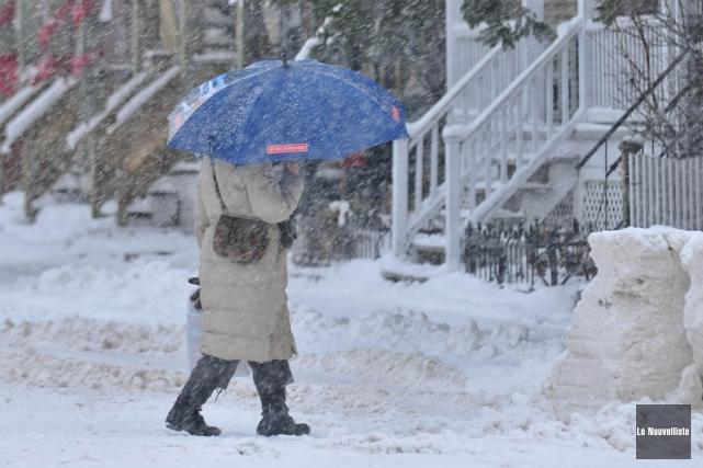 Le sud du Québec a connu mercredi sa... (Photo: Émilie O'Connor, Le Nouvelliste)