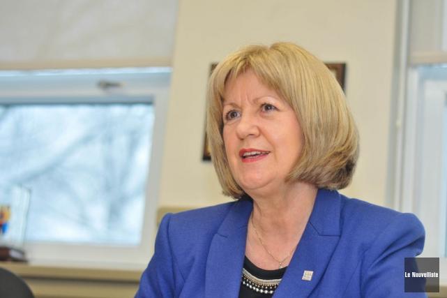 La directrice générale de la Commission scolaire du... (Photo: Émilie O'Connor, Le Nouvelliste)