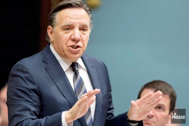 Le chef de la Coalition avenir Québec (CAQ),... (La Presse Canadienne)