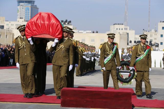 Ziad Abou Eïn, 55 ans, est mort mercredi... (Photo Ammar Awad, Reuters)