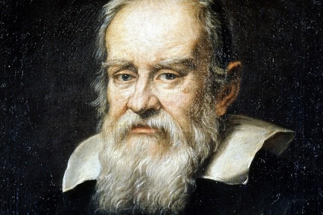 Portrait de Galilée...