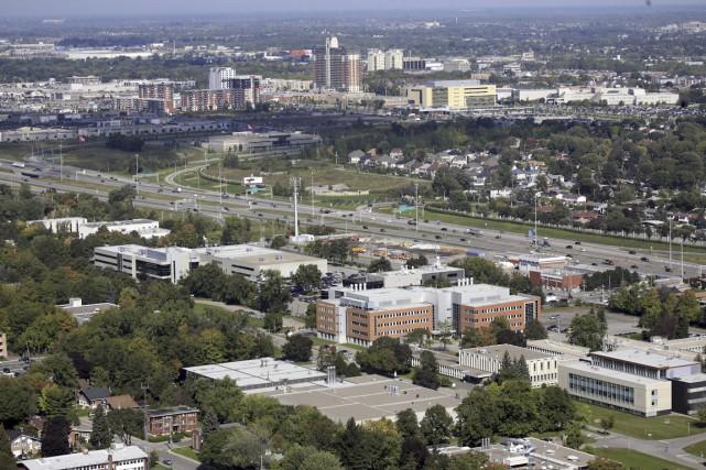 Vue aérienne de la Cité de la biotech... (PHOTO FOURNIE PAR LAVAL TECHNOPOLE)