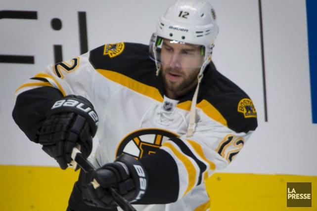 Simon Gagné des Bruins de Boston... (Photothèque La Presse)