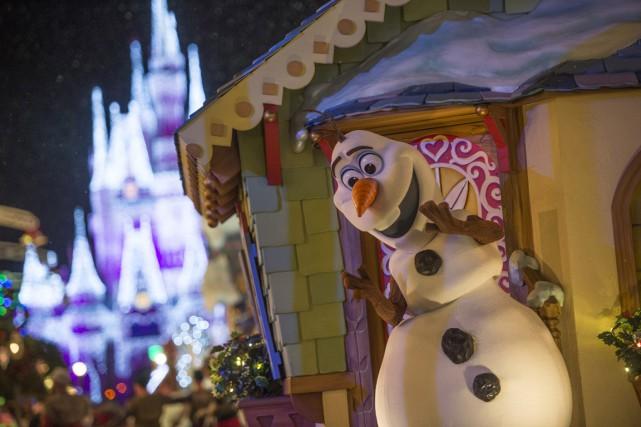 Olaf, irrésistible bonhomme de neige de La Reine... (Photo fournie par Disney)