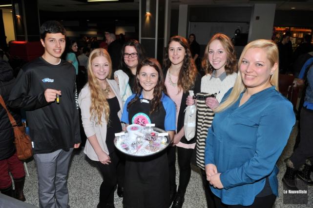 Le lancement de Jeunes entreprises a été fait... (Photo: Émilie O'Connor, Le Nouvelliste)