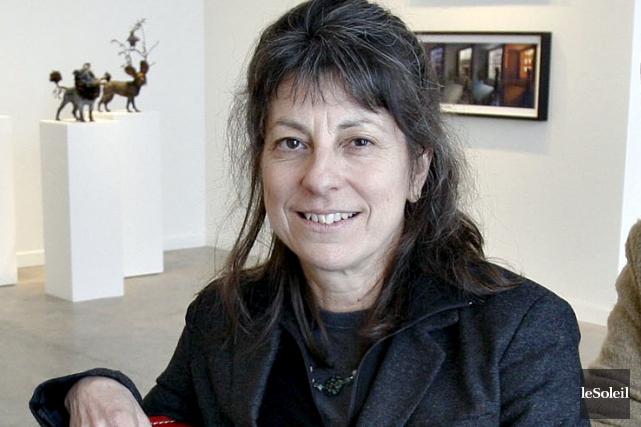 Avec des objets du quotidien, Diane Landry réalise... (Photothèque Le Soleil, Pascal Ratthé)