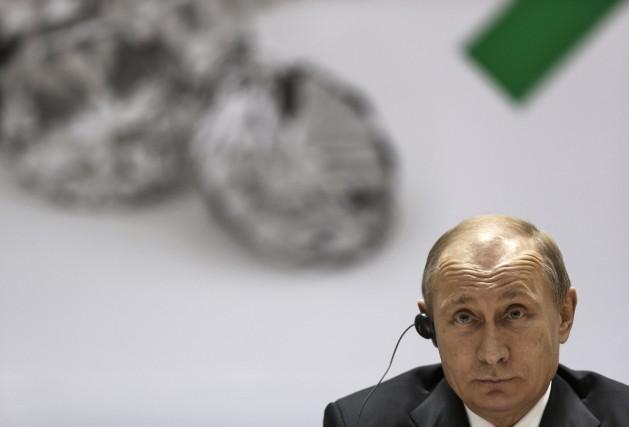 Le président russe Vladimir Poutine... (Photo Ahmad Masood, Reuters)