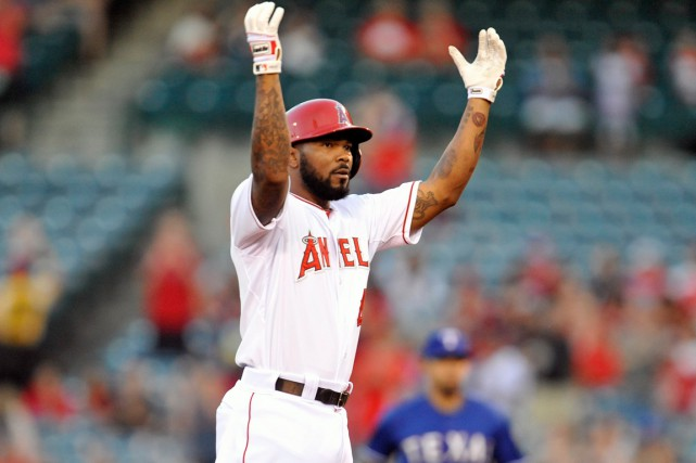 Howie Kendrick... (Photo Gary A. Vasquez, USA Today Sports)