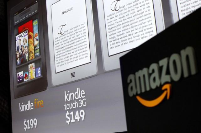 Amazon a lancé jeudi avec le«Kindle Unlimited»un genre... (Photo Shannon Stapleton, Archives REUTERS)