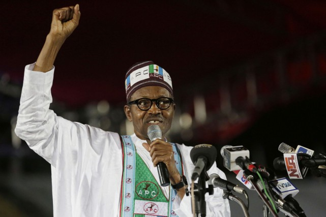 Muhammadu Buhari... (Photo Sunday Alamba, AP)